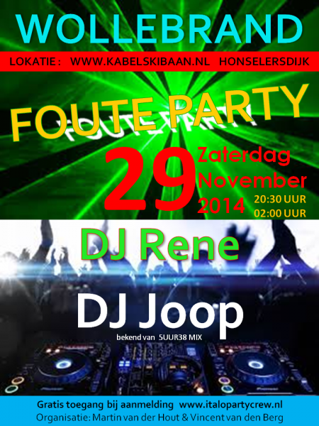 FOUTE-PARTY